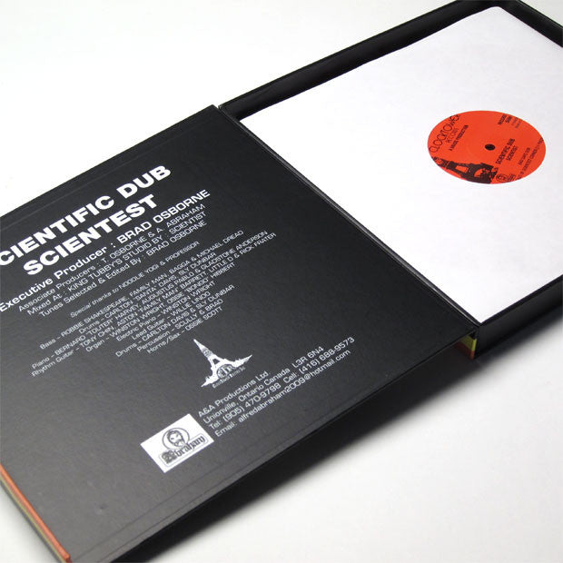 "Scientist: Scientific Dub (Colored Vinyl) 3x10"" Boxset 3"
