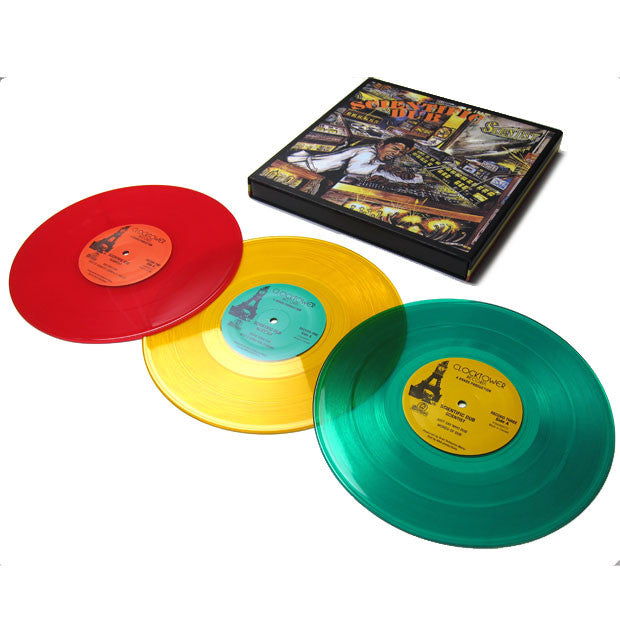 "Scientist: Scientific Dub (Colored Vinyl) 3x10"" Boxset"