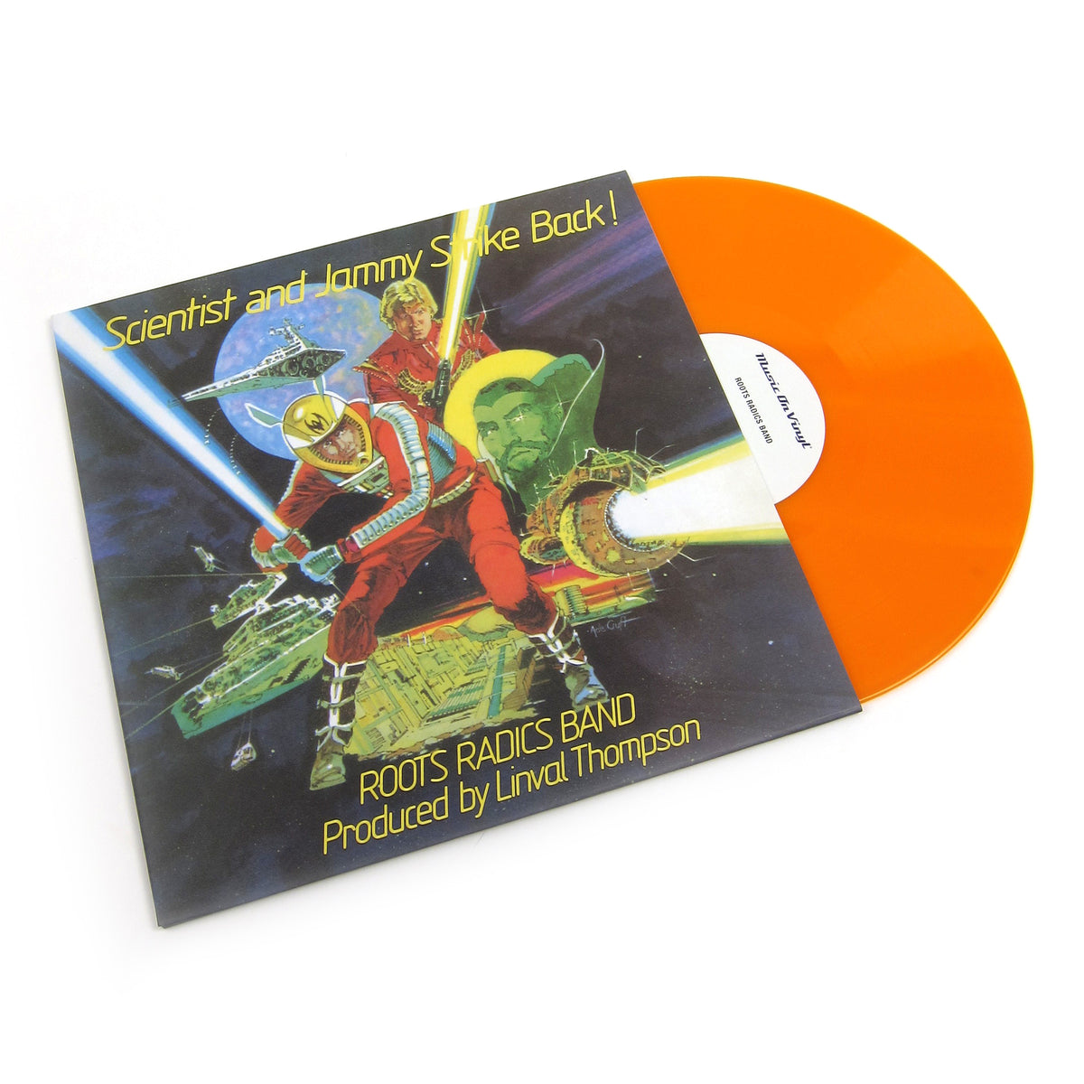 Scientist & Prince Jammy: Scientist and Jammy Strike Back! (Music On Vinyl 180g, Colored Vinyl) Vinyl LP