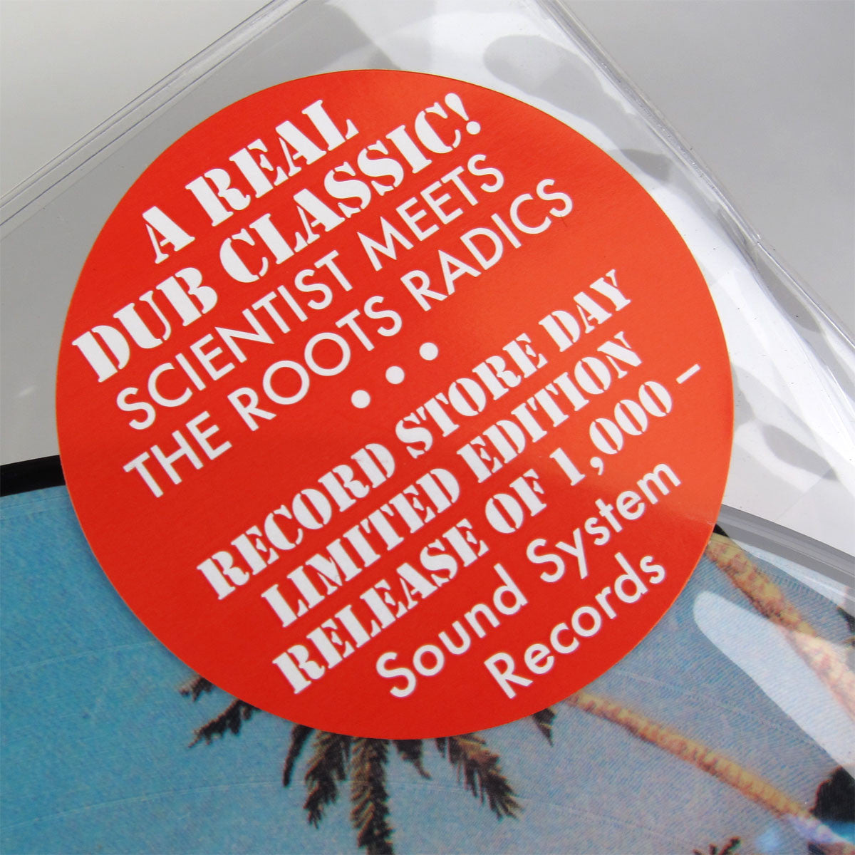 Roots Radics: Scientist Meets Roots Radics Pic Disc Vinyl LP (Record Store Day 2014) 2