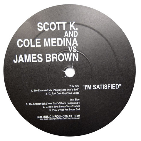 Cole Medina & Scott K: Vs. James Brown Vinyl EP