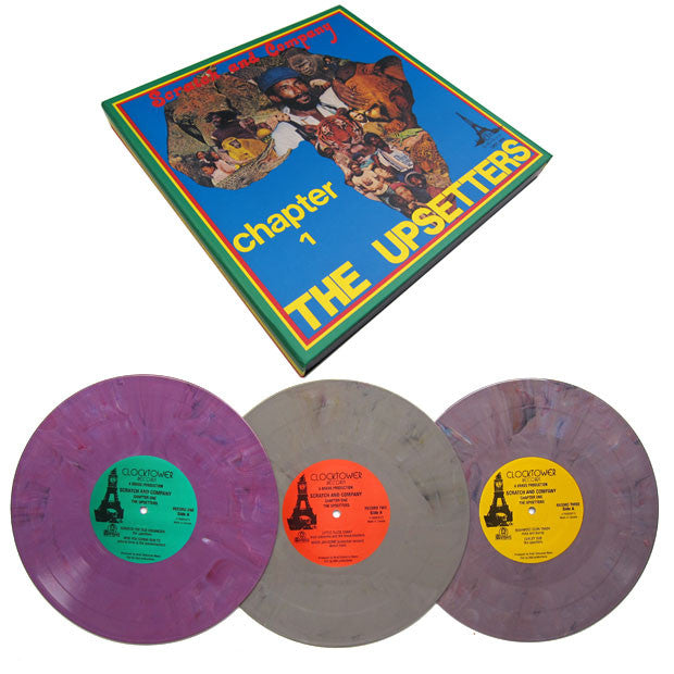 "Lee Scratch Perry: Chapter One Dub (Colored Vinyl) 3x10"" Boxset"