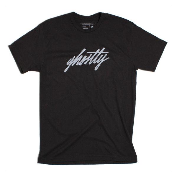 Ghostly International: Ghostly Script Shirt - Black