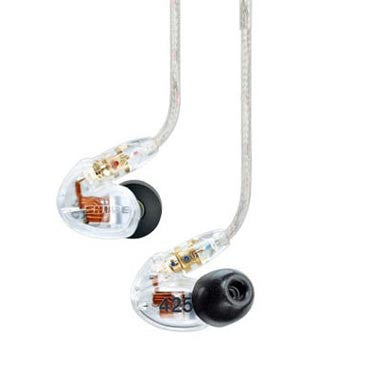 Shure: SE425-CL Sound Isolating Earphones - Clear