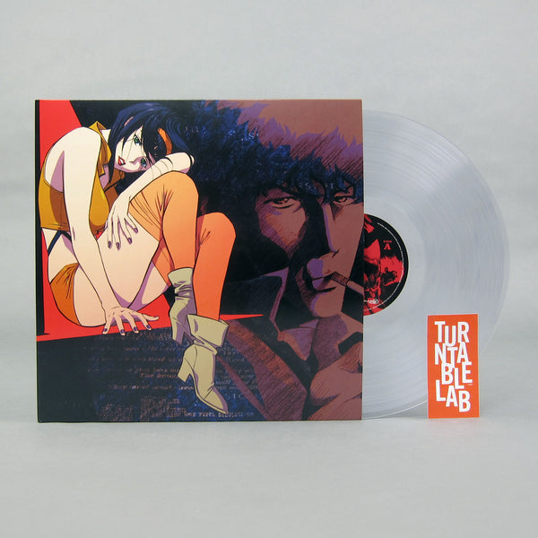 Seatbelts: Cowboy Bebop (Clear Colored Vinyl) 2LP - Turntable Lab Exclusive