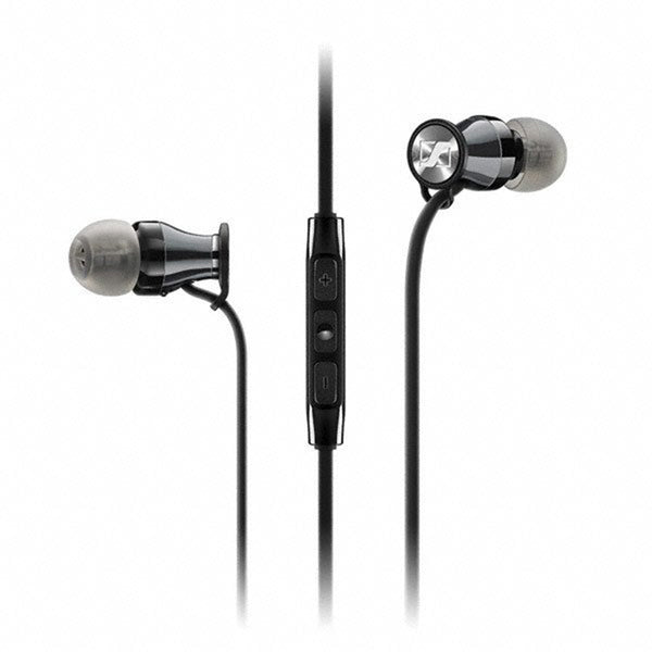 Sennheiser: HD1 In-Ear Headphones (Android Version) - Black Chrome
