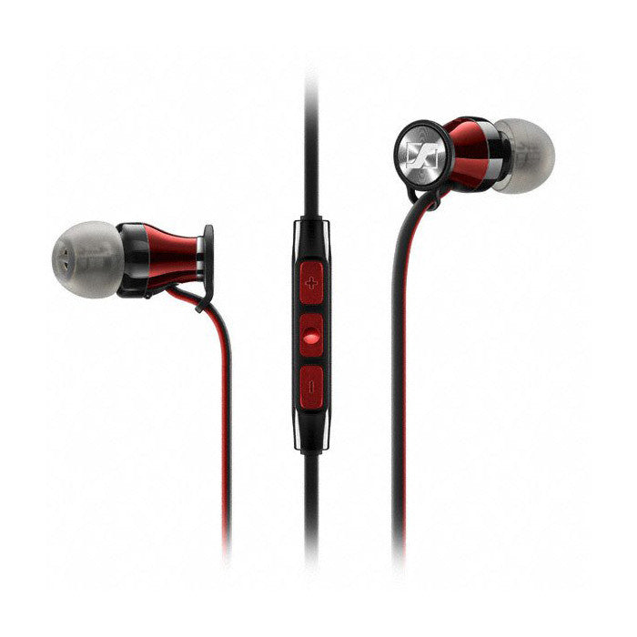 Sennheiser: Momentum 2.0 In-Ear Earphones (iPhone) - Black & Red