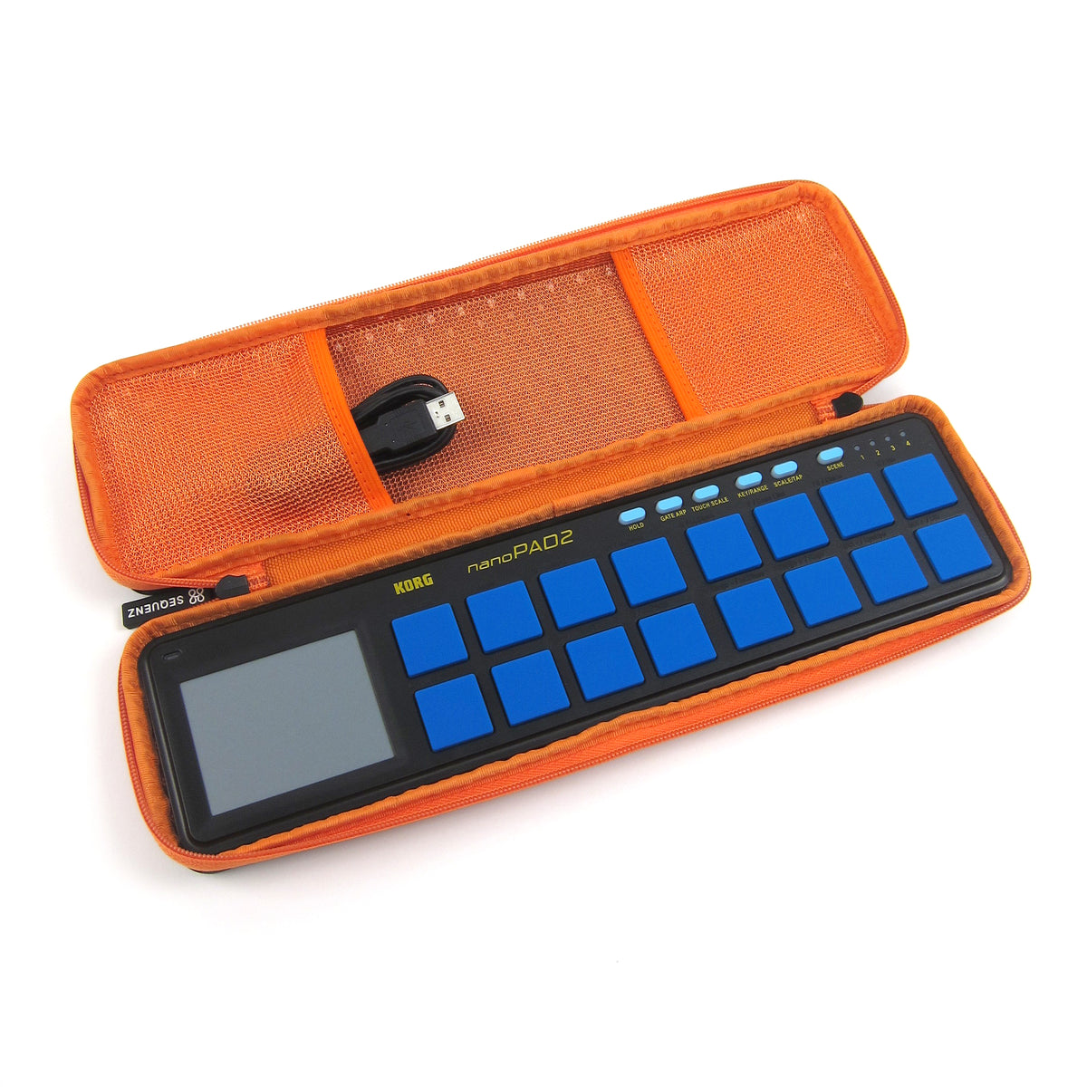 Korg: Sequenz Nano Case - Orange (CCNANOOR)