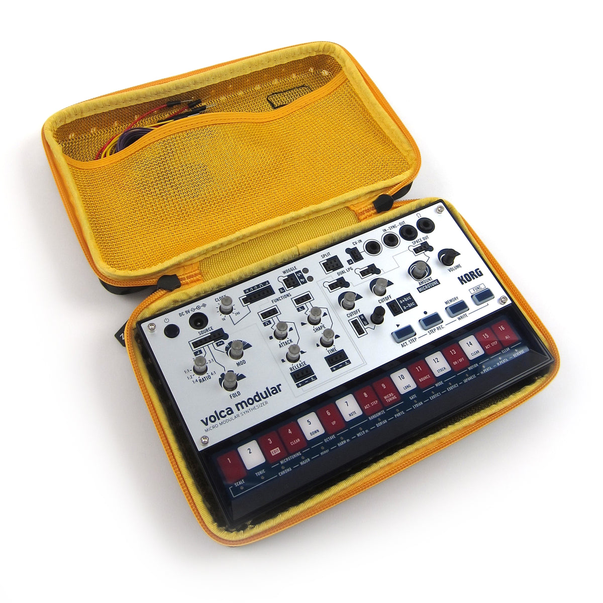 Korg: Sequenz Volca Case - Yellow (CCVOLCAYL)