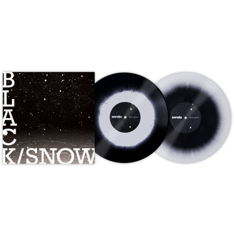 Serato: Performance Series Control Vinyl 2LP - Black Snow (Limit 2 Per Customer, +2 Will Be Cancelled)