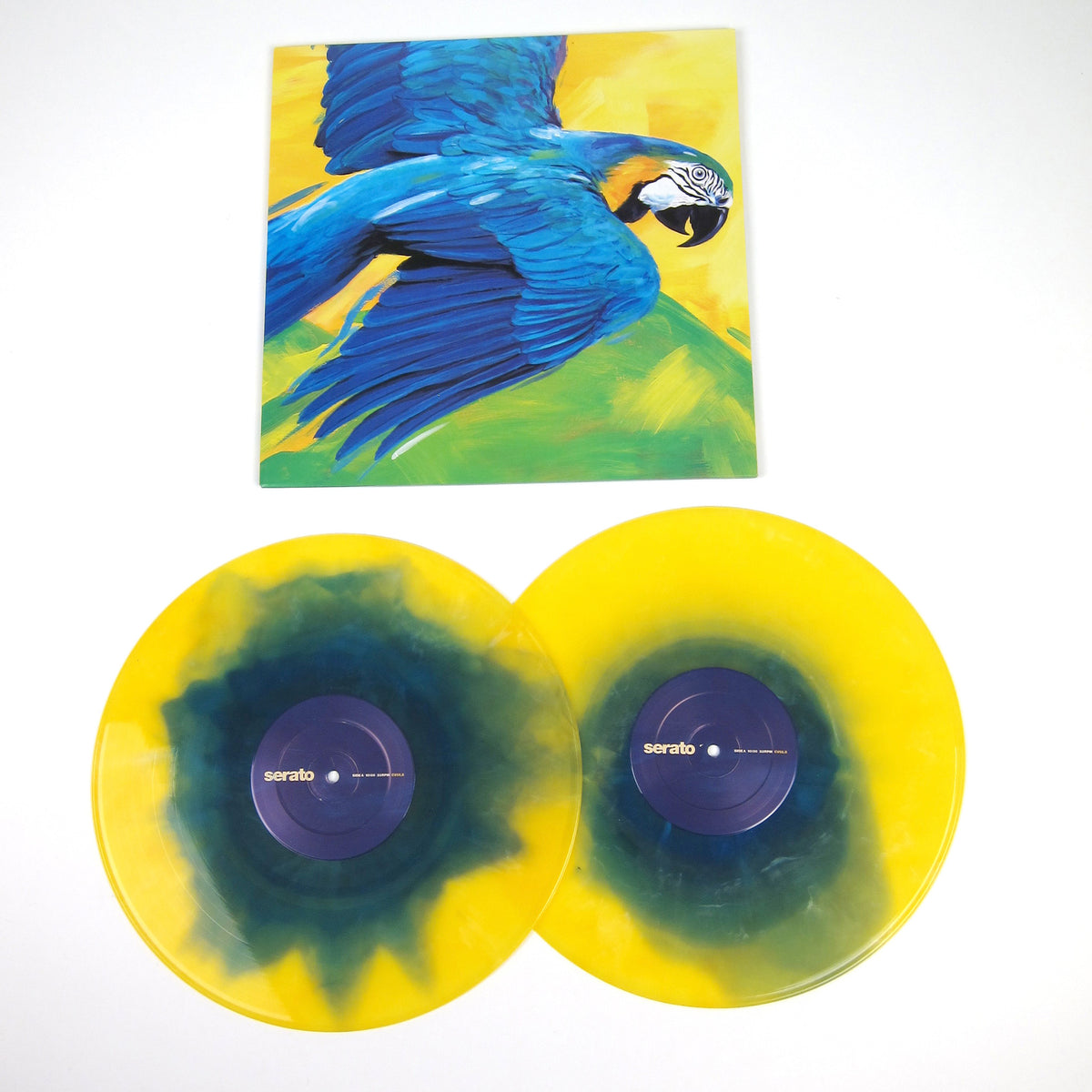 Serato: Performance Series Control Vinyl 2LP - Brazil Edition