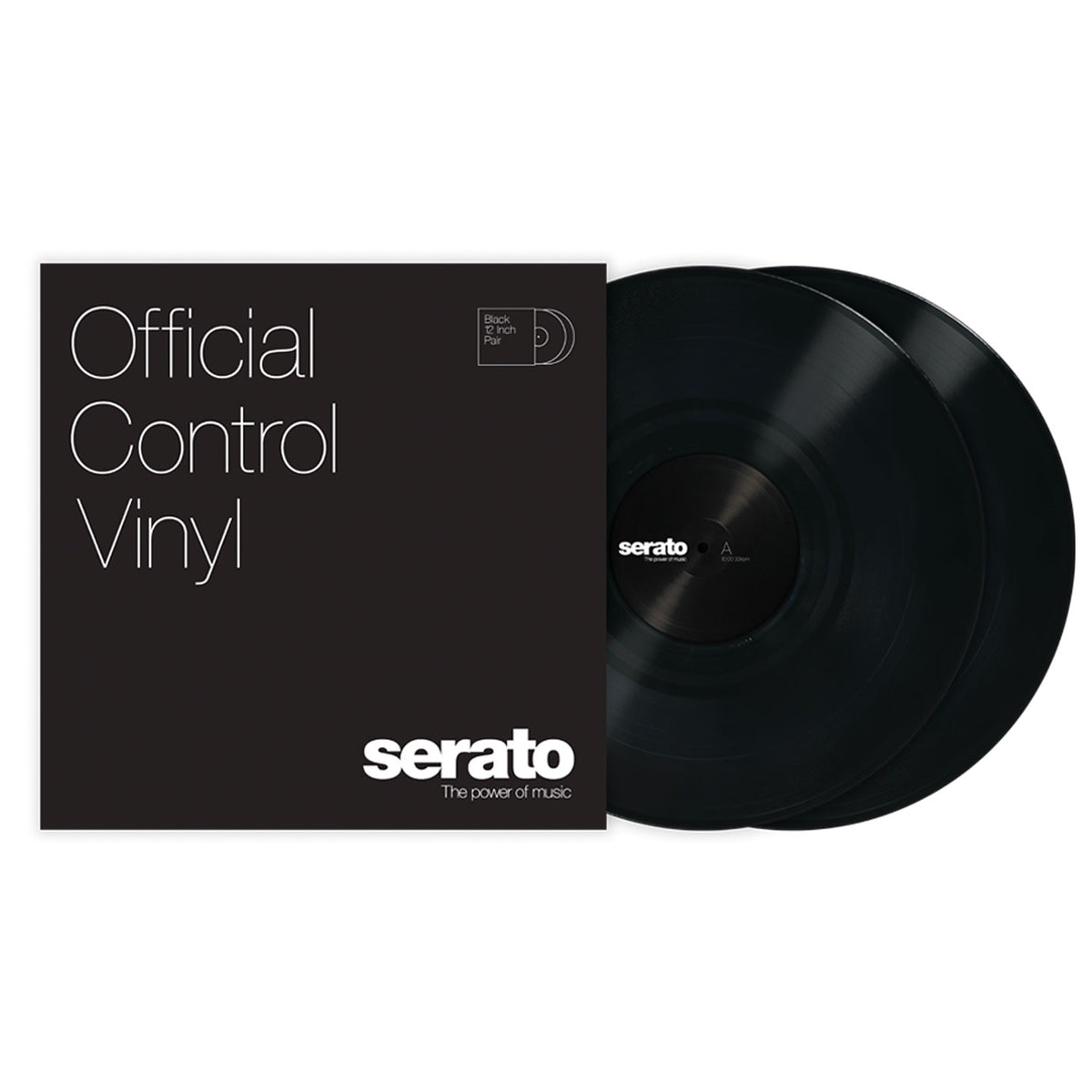 Serato: Performance Series Control Vinyl 2LP - Black