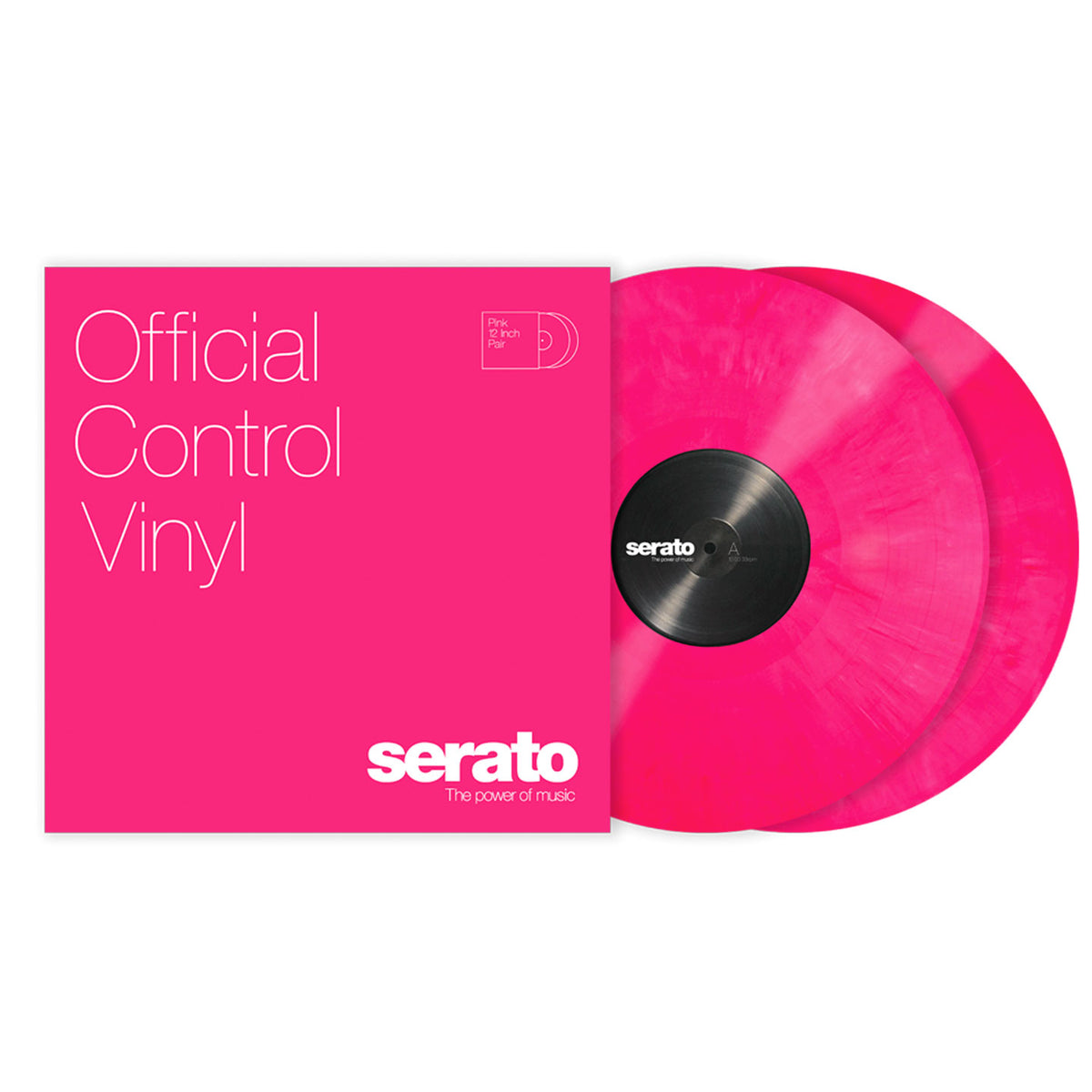 Serato: Performance Series Control Vinyl 2LP - Pink