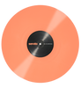 Serato: Performance Series Control Vinyl 2LP - Pastel Coral (Pair) close up