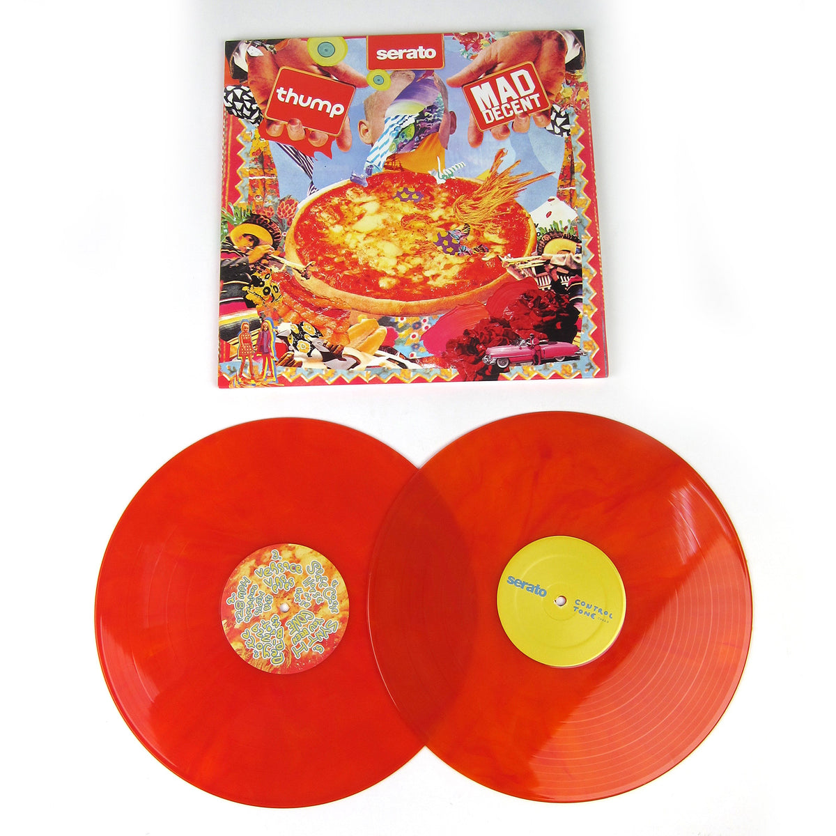 Mad Decent: Peyote Pizza Braykz - A Mad Decent x Thump x Serato Collaboration Control Vinyl (Colored Vinyl) Vinyl 2LP