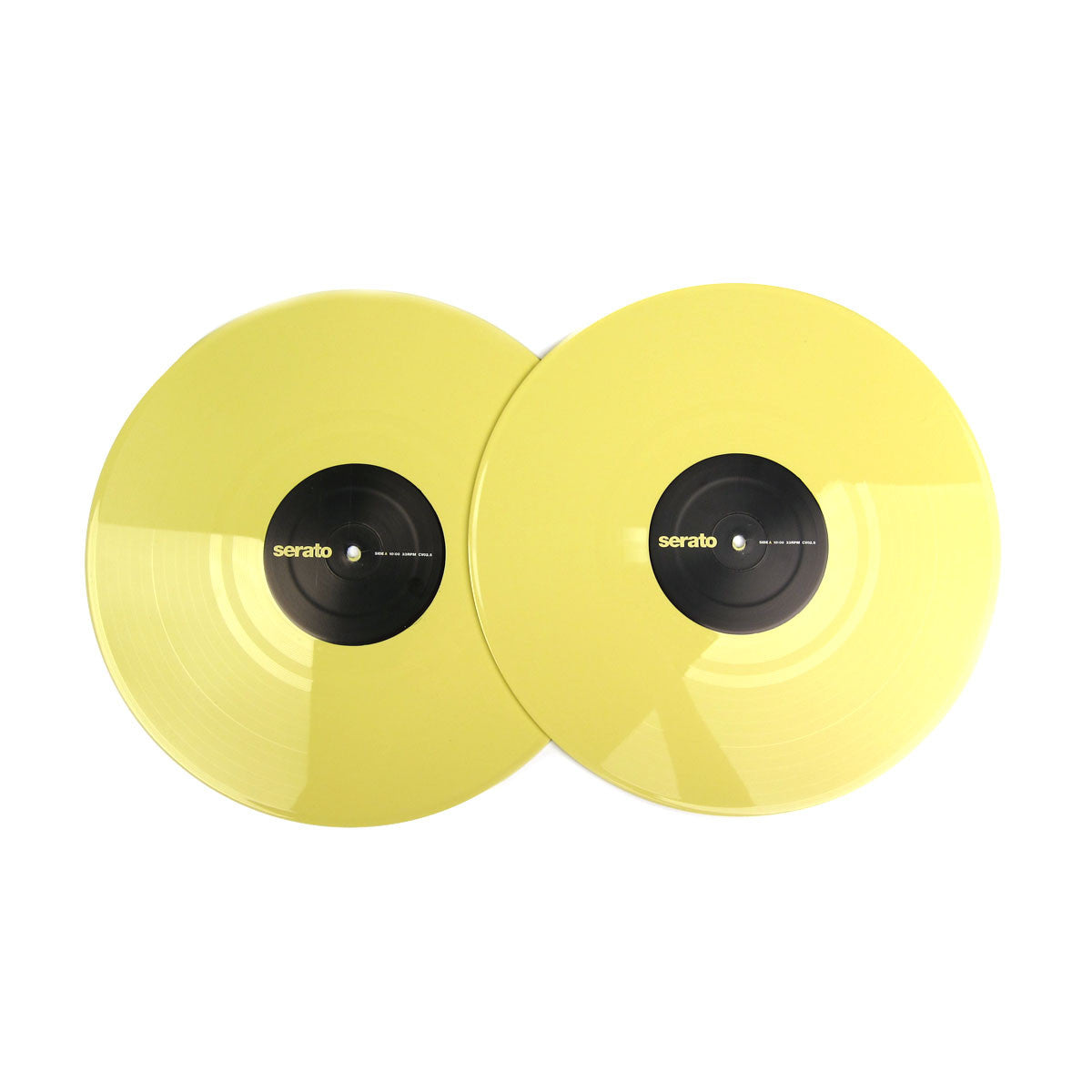 Serato: Performance Series Control Vinyl 2LP - Pastel Yellow (Pair) 2