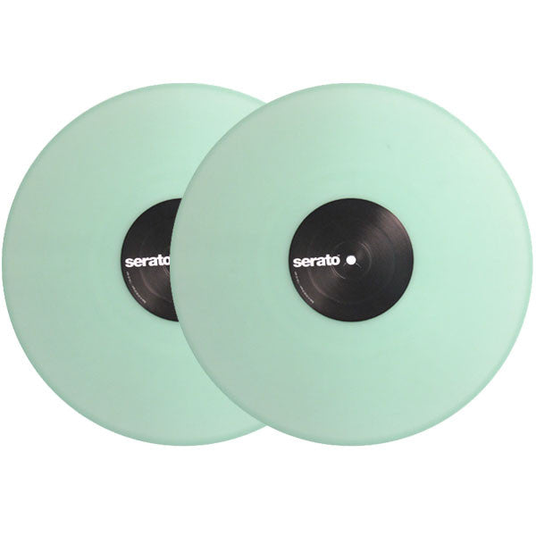 Serato: Performance Series Control Vinyl 2LP - Glow In The Dark