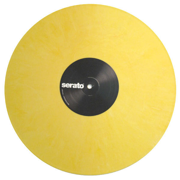 Serato: Performance Series Control Vinyl 2LP - Yellow Single