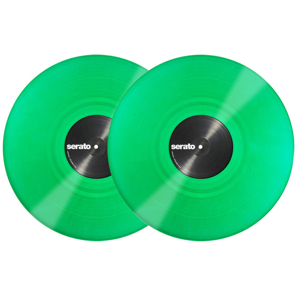 Serato: Performance Series Control Vinyl 2LP - Green