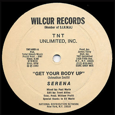 Serena: Get Your Body Up 12""
