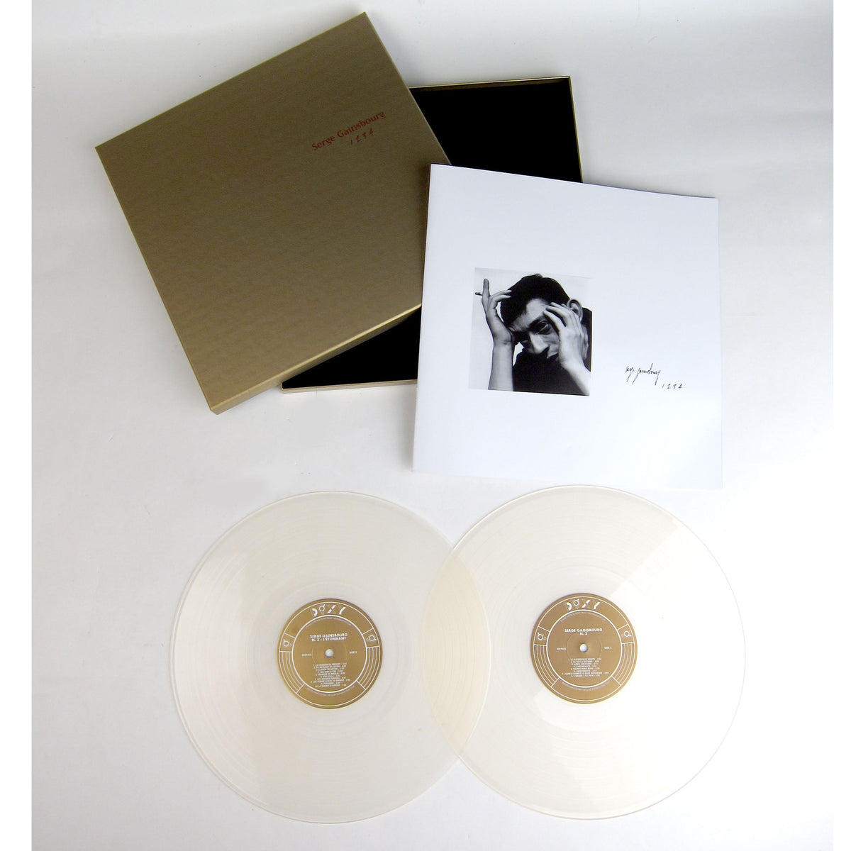 Serge Gainsbourg: 1 2 3 4  (Colored Vinyl) Vinyl Boxset 2LP laydown