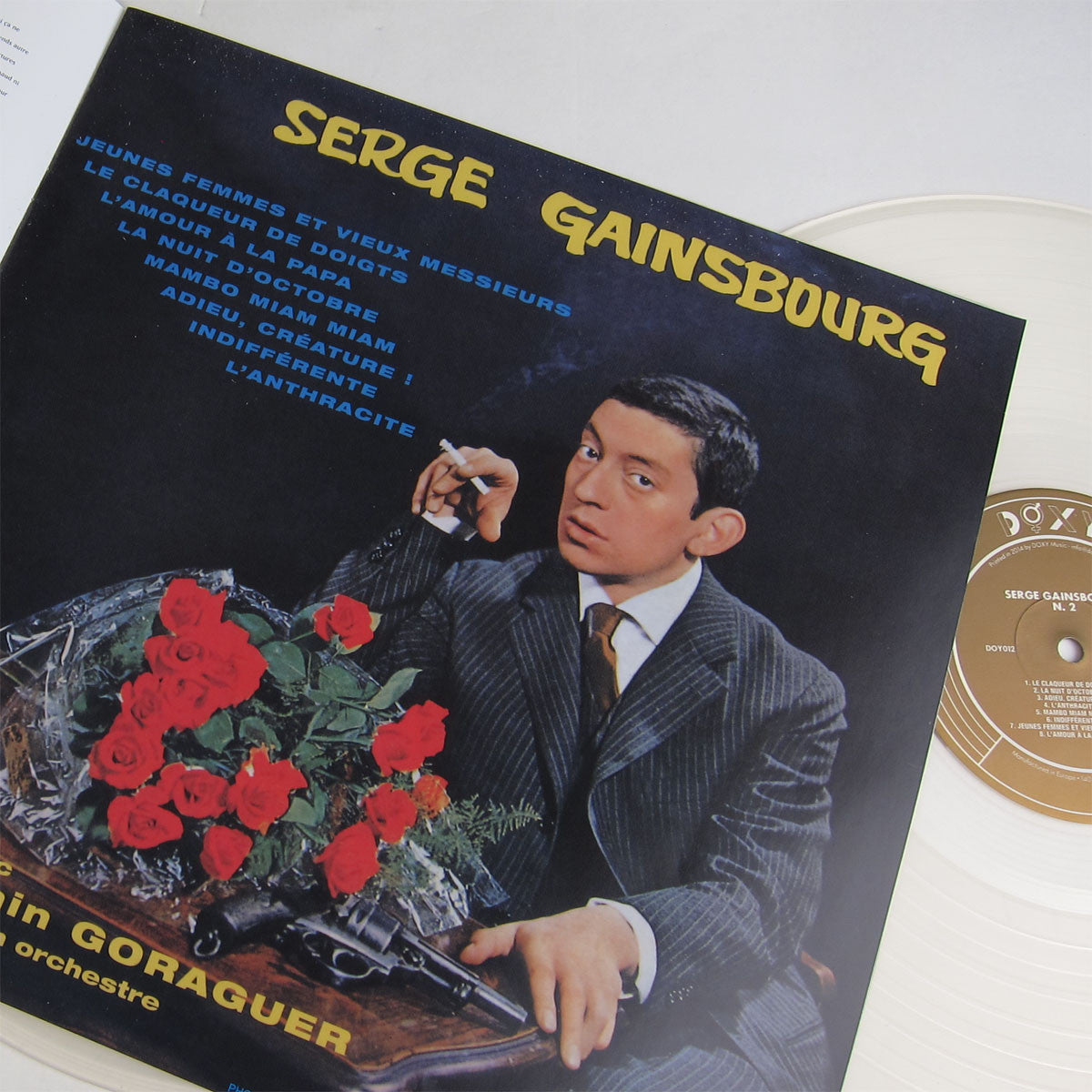 Serge Gainsbourg: 1 2 3 4  (Colored Vinyl) Vinyl Boxset 2LP detail 2