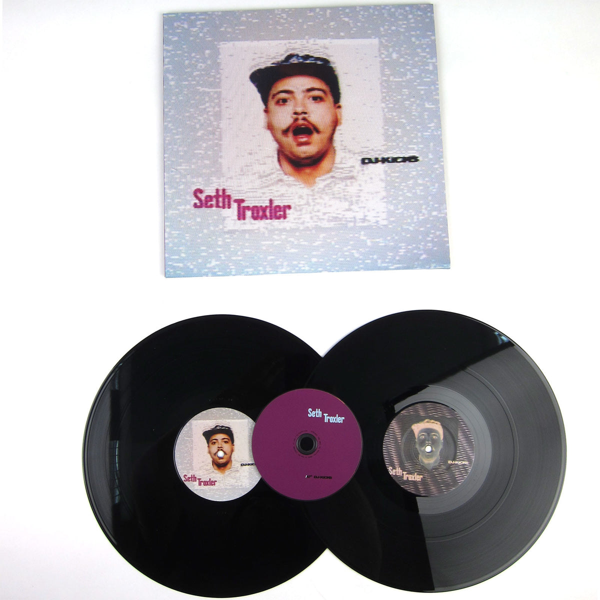 Seth Troxler: DJ-Kicks Vinyl 2LP+CD