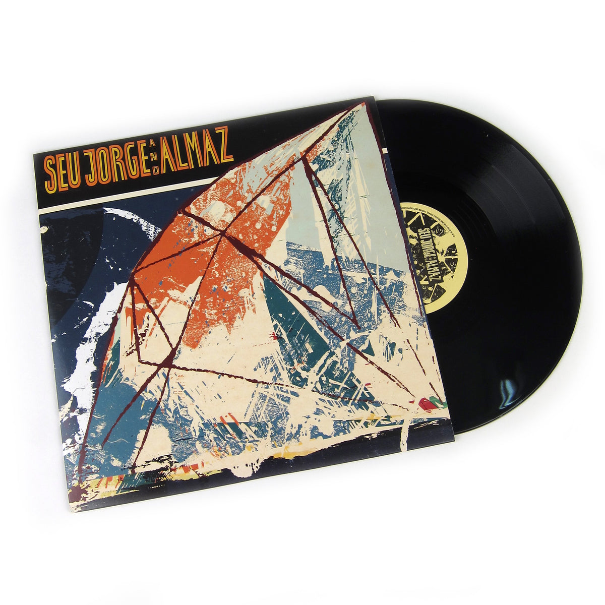Seu Jorge And Almaz: Seu Jorge And Almaz Vinyl 2LP