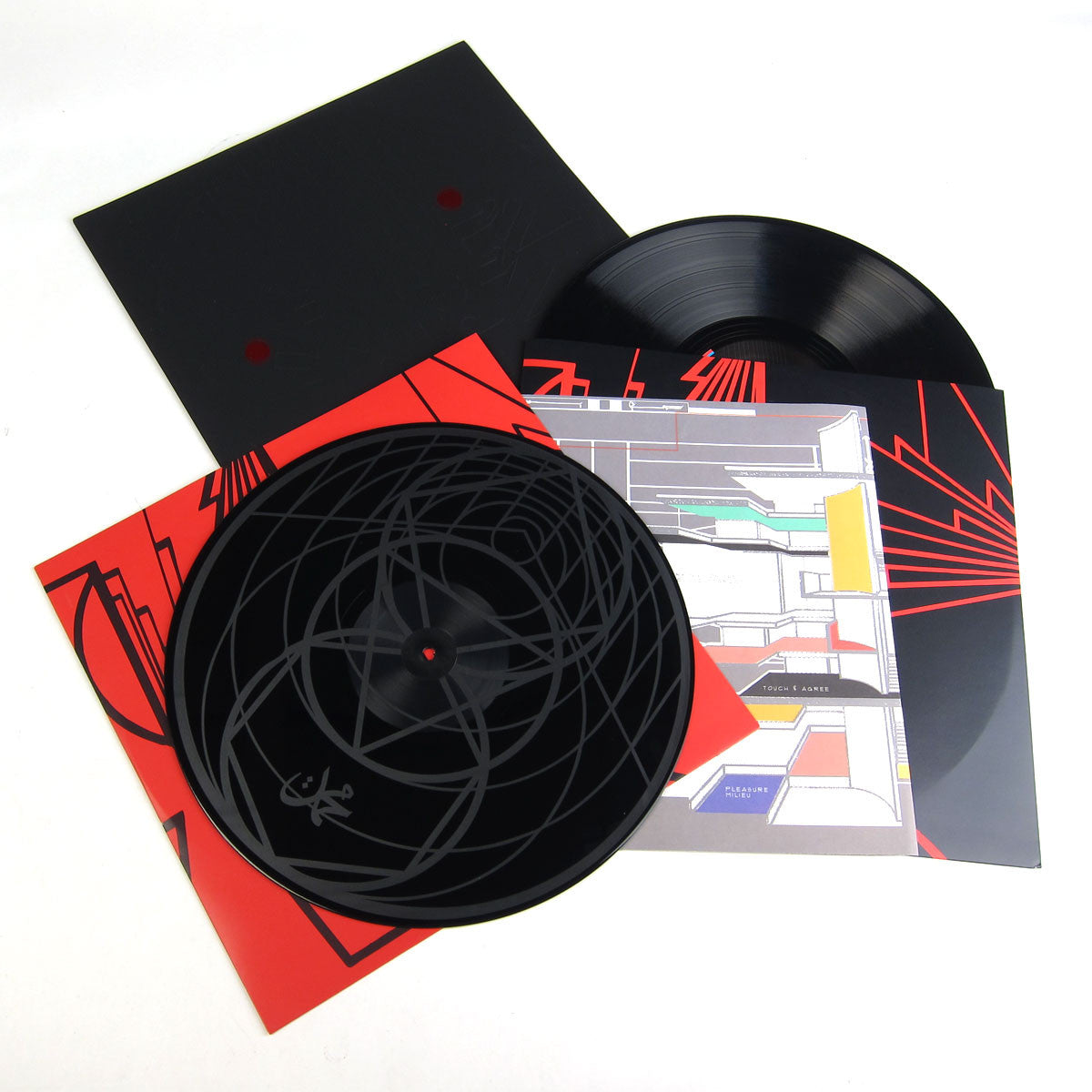 Shabazz Palaces: Lese Majesty (Etched Vinyl, Free MP3) Vinyl 2LP