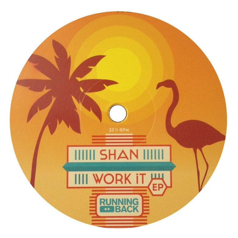 Shan: (You Better) Work It Vinyl 12""