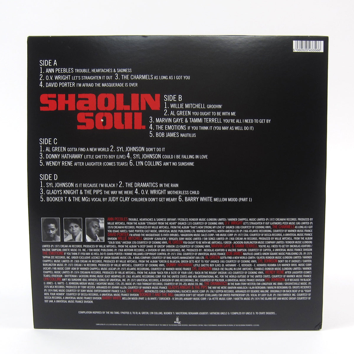 Because Music: Shaolin Soul Episode 1 (Wu-Tang Clan, RZA) Vinyl 2LP+CD