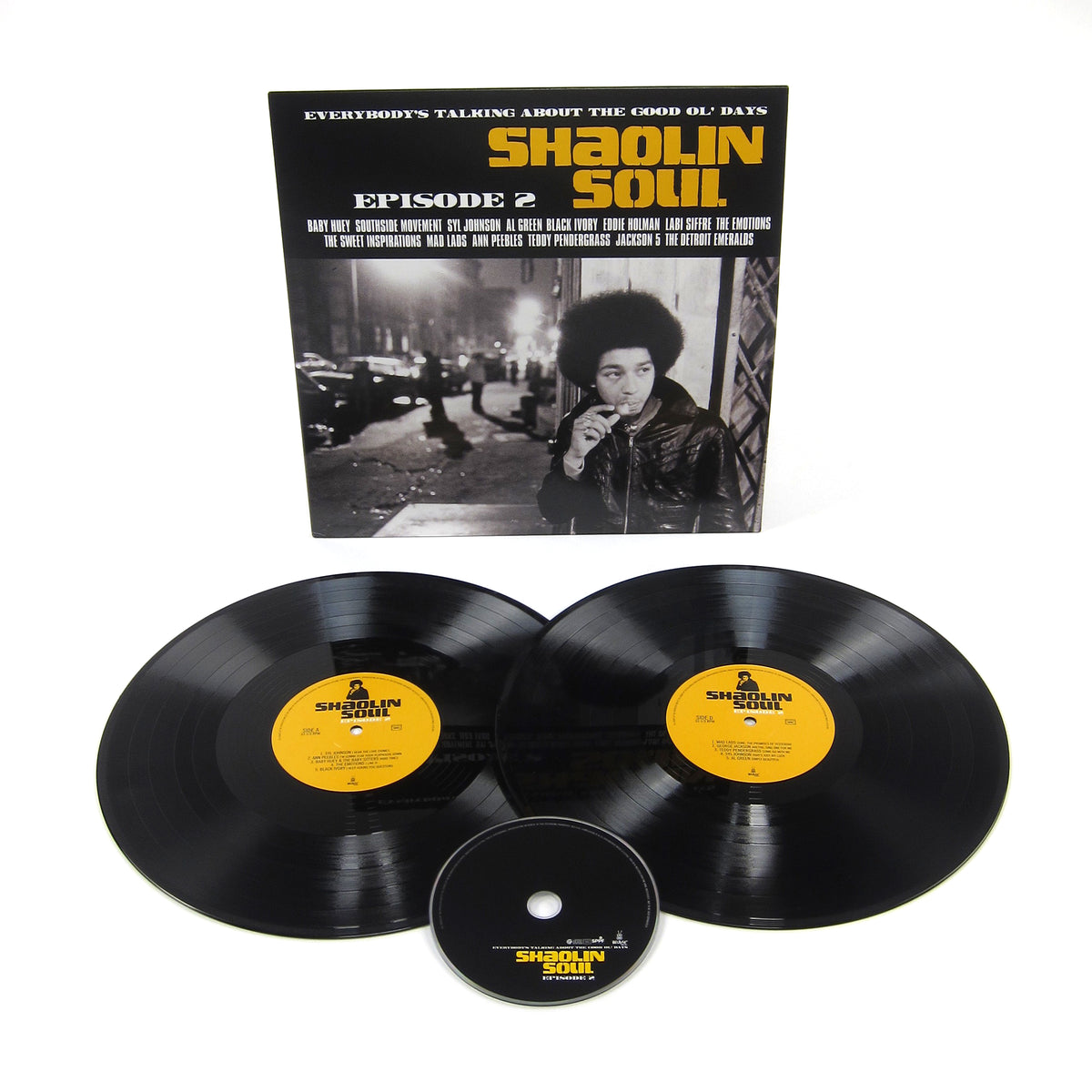 Because Music: Shaolin Soul Episode 2 (Wu-Tang Clan, RZA) Vinyl 2LP+CD