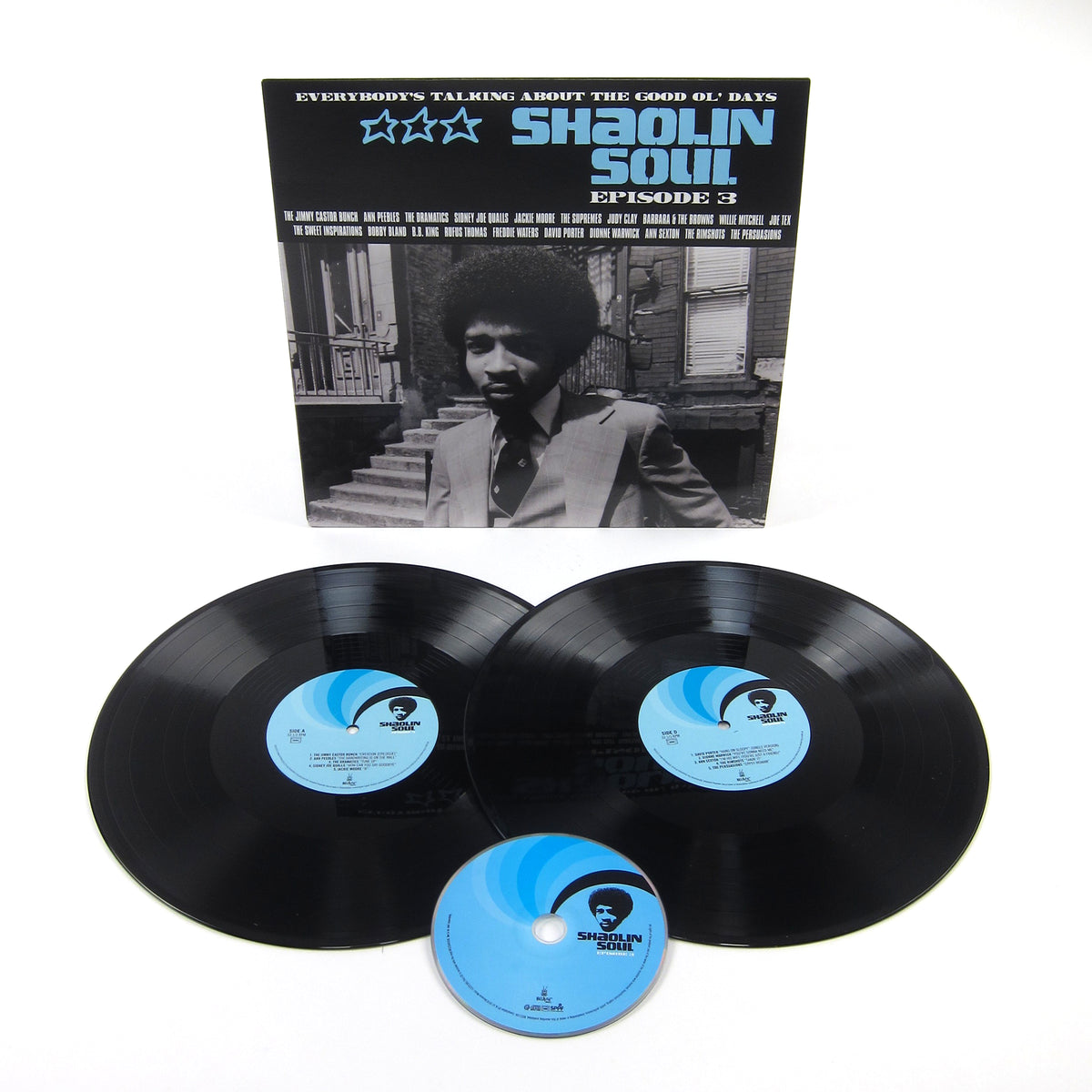 Because Music: Shaolin Soul Episode 3 (Wu-Tang Clan, RZA) Vinyl 2LP+CD