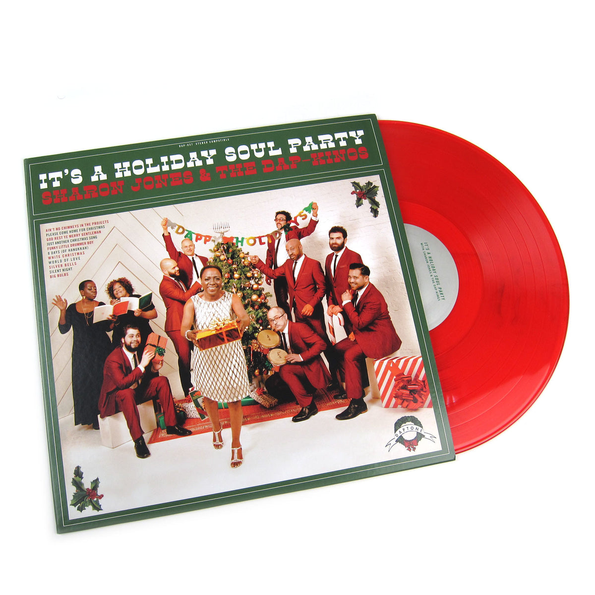 Sharon Jones And The Dap-Kings: It's a Holiday Soul Party (Colored Vinyl) Vinyl LP