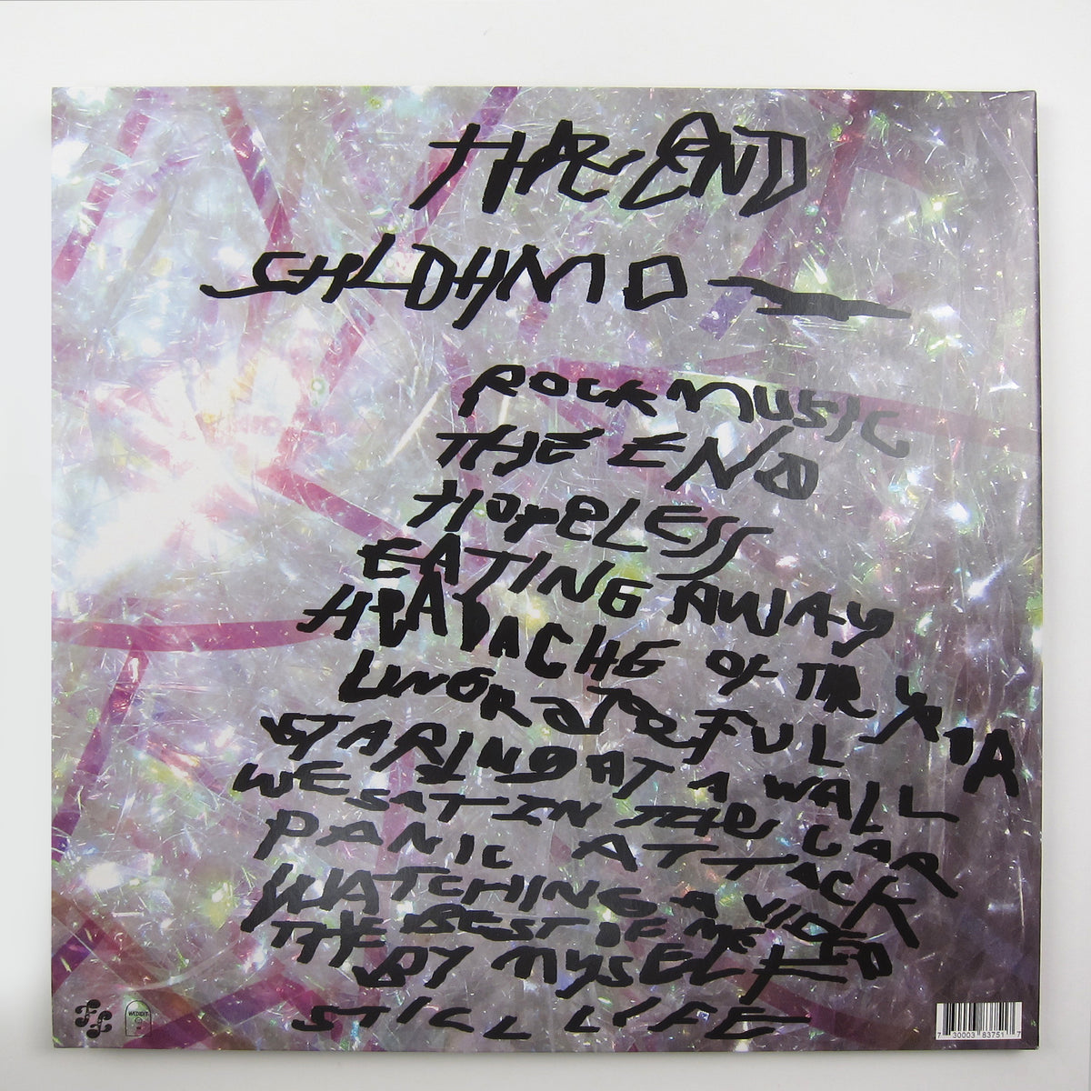Shlohmo: The End Vinyl LP