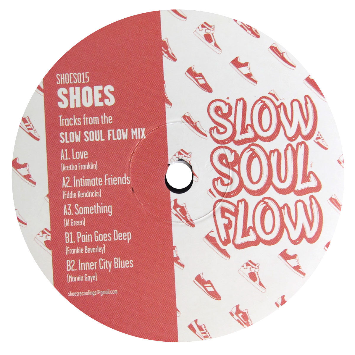 Shoes: Slow Soul Flow EP (Al Green, Marvin Gaye, Eddie Kendricks) Vinyl 12""