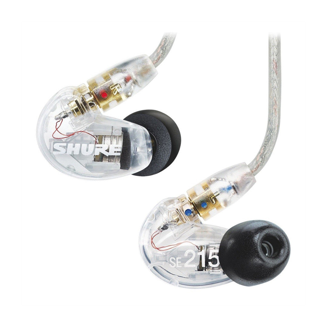 Shure: SE215-CL Sound Isolating Earphones - Clear