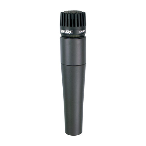 Shure: SM57-LC Cardioid Dynamic Microphone