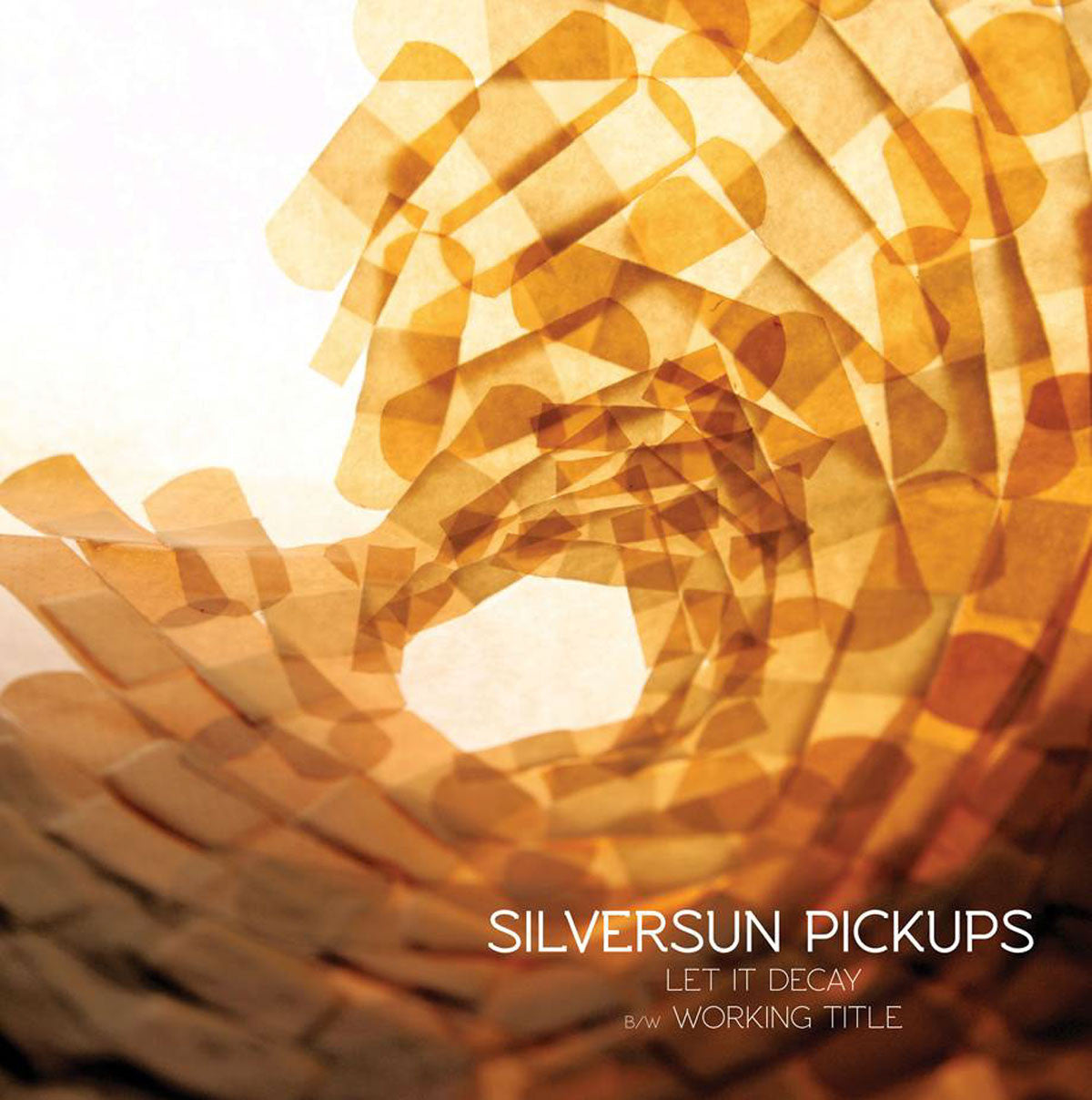 "Silversun Pickups: Let It Decay / Working Title 10"" (Record Store Day)"