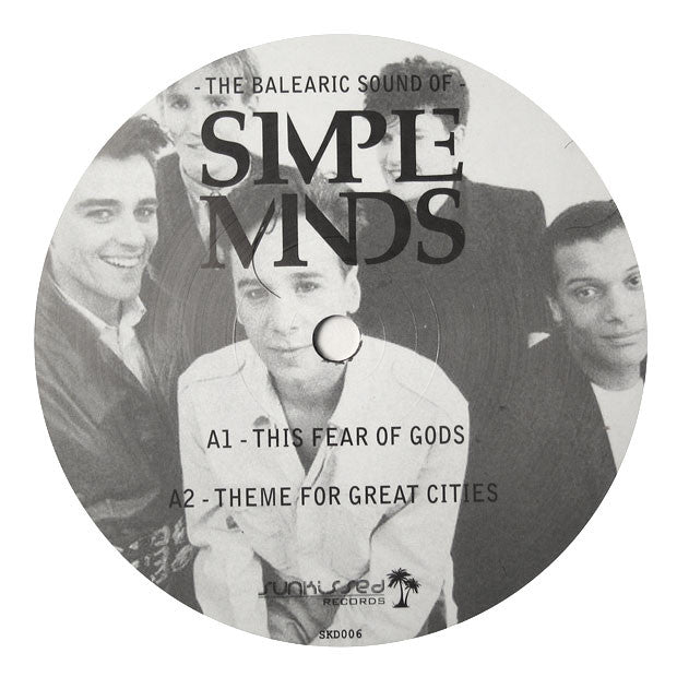 Simple Minds : The Balearic Sound of Simple Minds LP