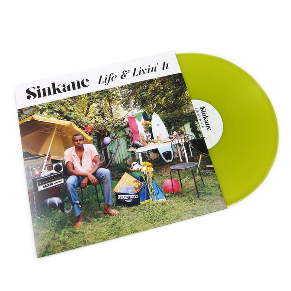 Sinkane: Life N Livin' It (Indie Exclusive Colored Vinyl) Vinyl LP