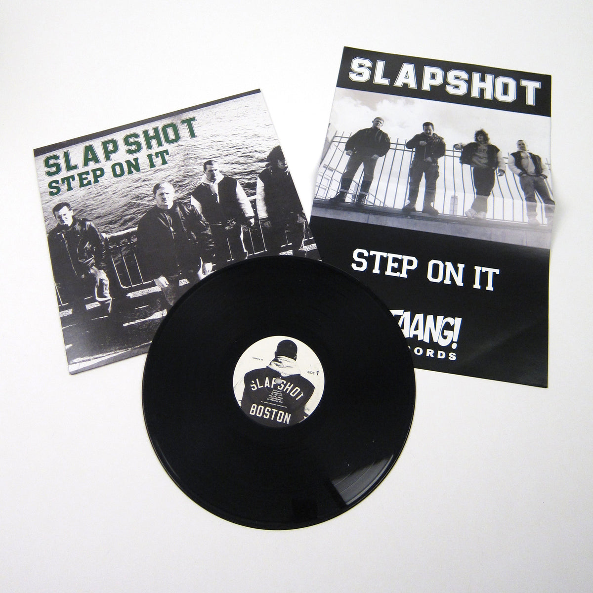 Slapshot: Step On It Vinyl LP