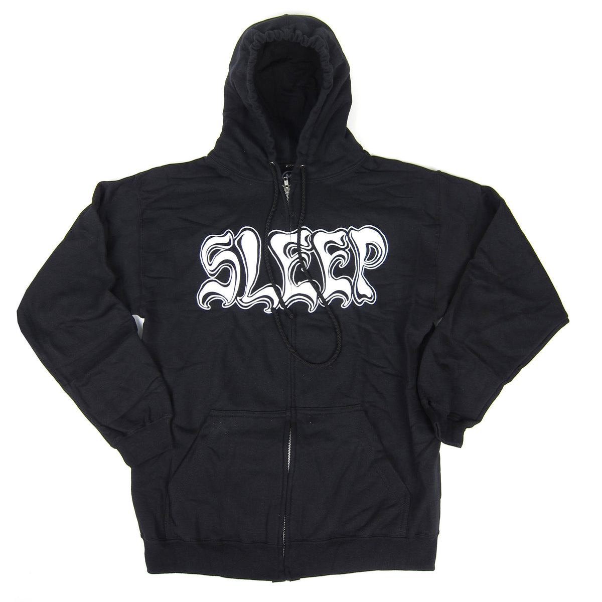 Sleep: Holy Mountain Zip Hoodie - Black