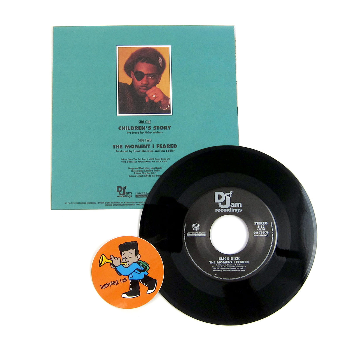 Slick Rick: Children's Story Vinyl 7""