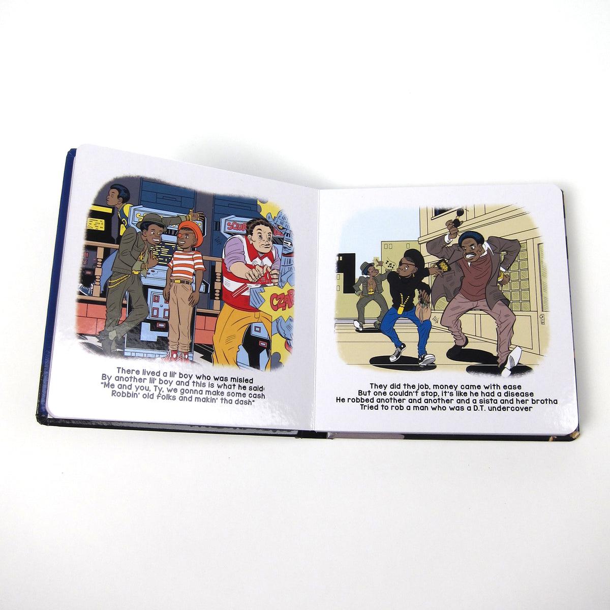 Slick Rick: The Great Adventures Of Slick Rick CD+Children's Book