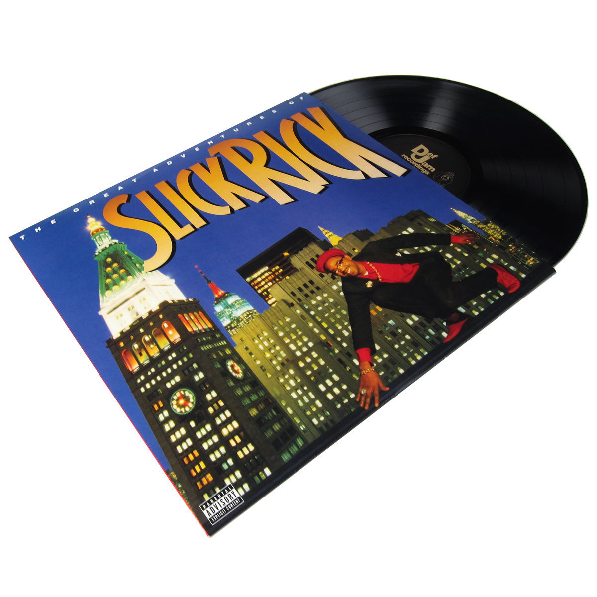 Slick Rick: The Great Adventrues of Slick Rick Vinyl LP