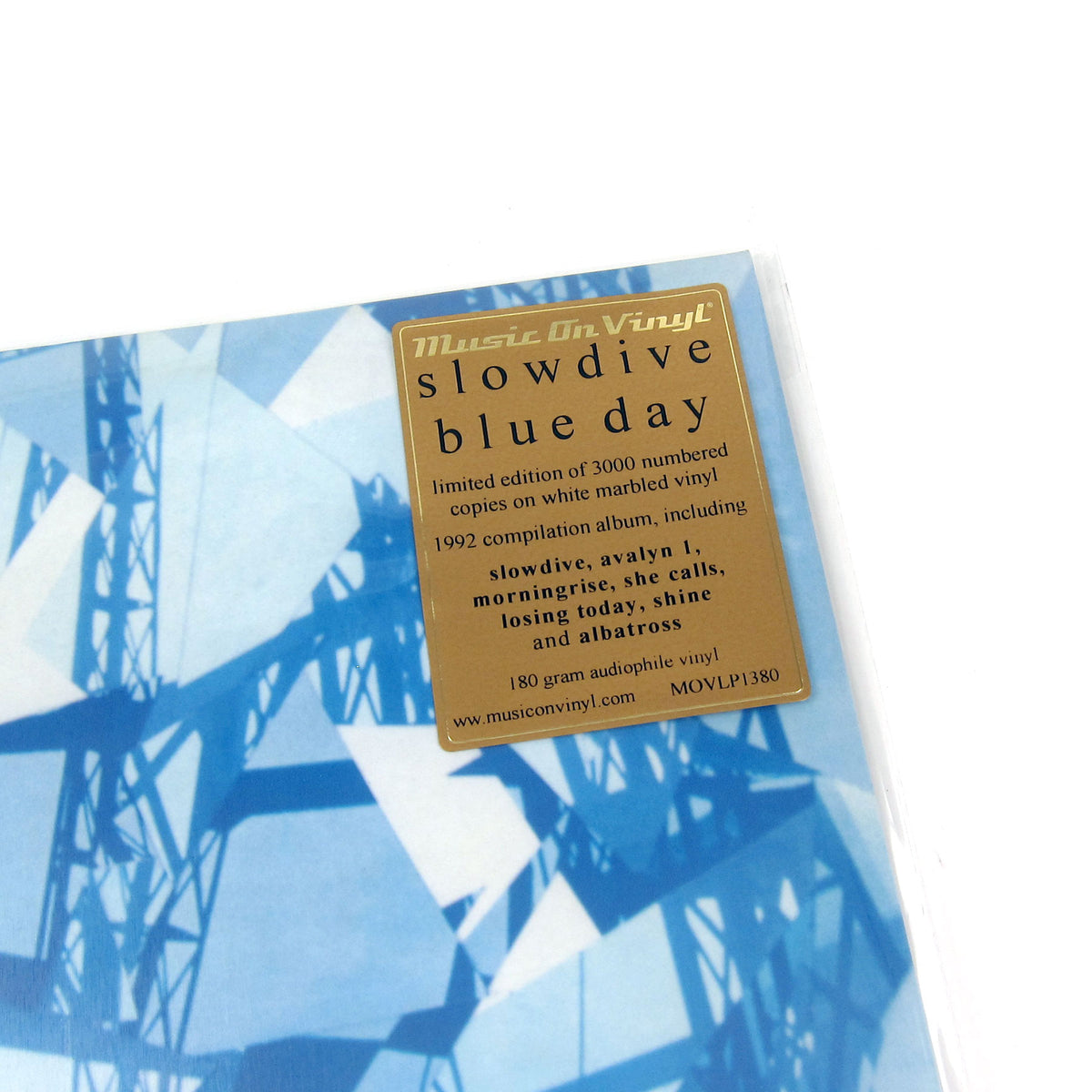 Slowdive: Blue Day (Music On Vinyl 180g, Colored Vinyl)