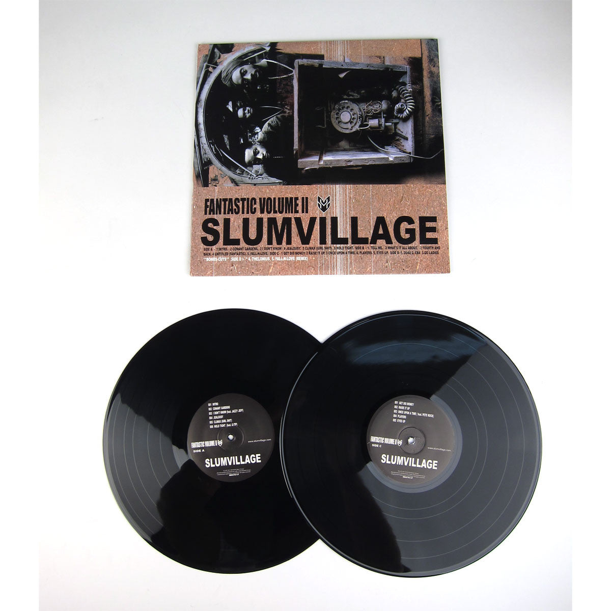 Slum Village: Fan-Tas-Tic Vol.2 Vinyl 2LP