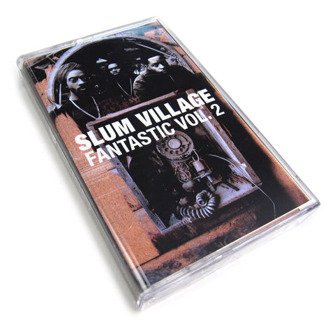 Slum Village: Fantastic Vol.2 Cassette