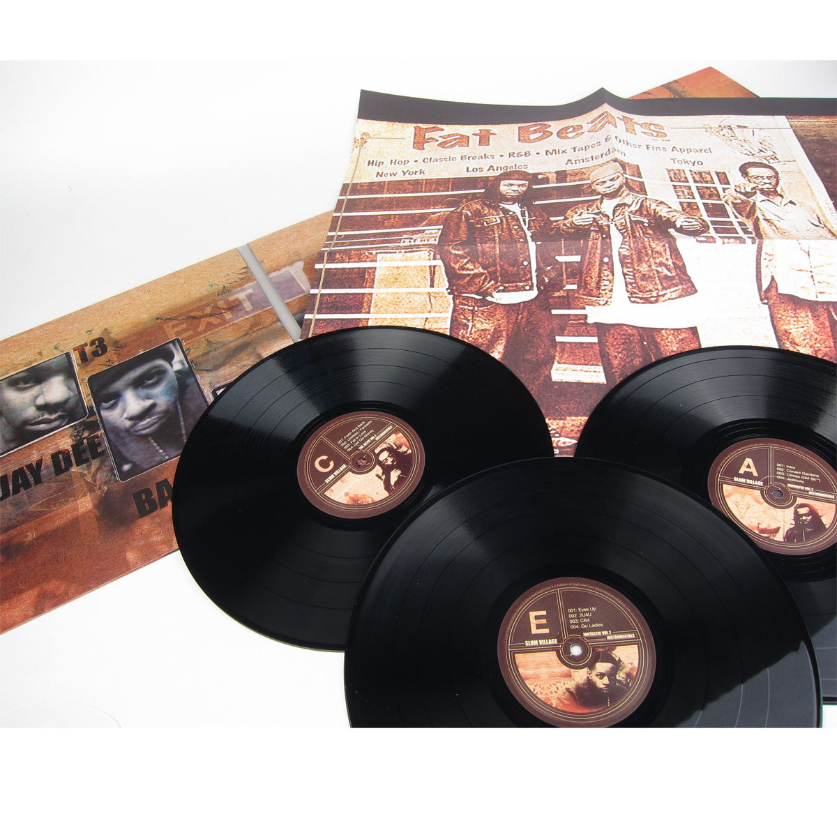 Slum Village: Fantastic Vol.2 Instrumentals 3LP detail